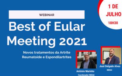 Webinar Best of Eular Meeting 2021 – Inscrições Abertas