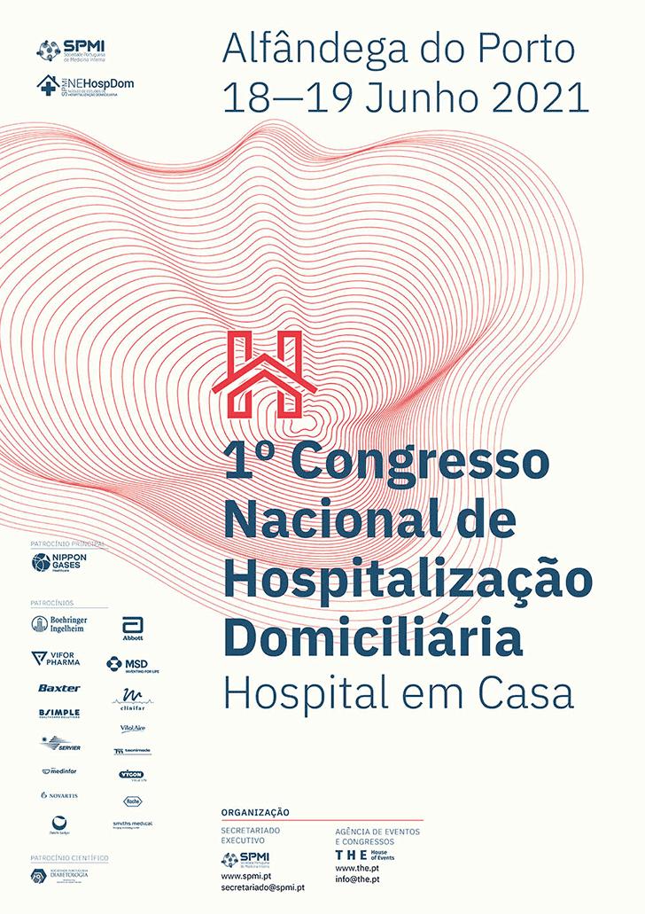 1º Congresso Nacional de Hospitalização Domiciliária - Inscreva-se até 11 de Junho