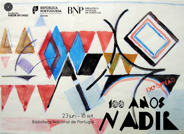 Exposição | 100 anos Nadir | 23 jun. - 18 set. | BNP