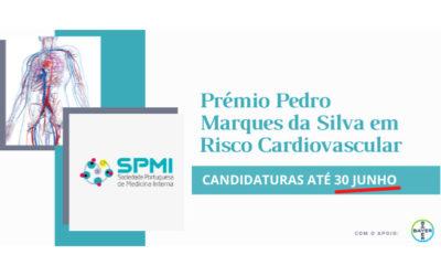Prémio Pedro Marques da Silva em Risco Cardiovascular – Candidaturas até 30 de Junho