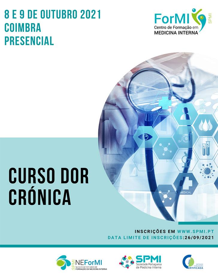 Curso Dor Crónica Presencial - Inscrições Abertas