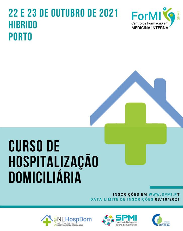 Curso de Hospitalização Domiciliária - Inscrições Abertas