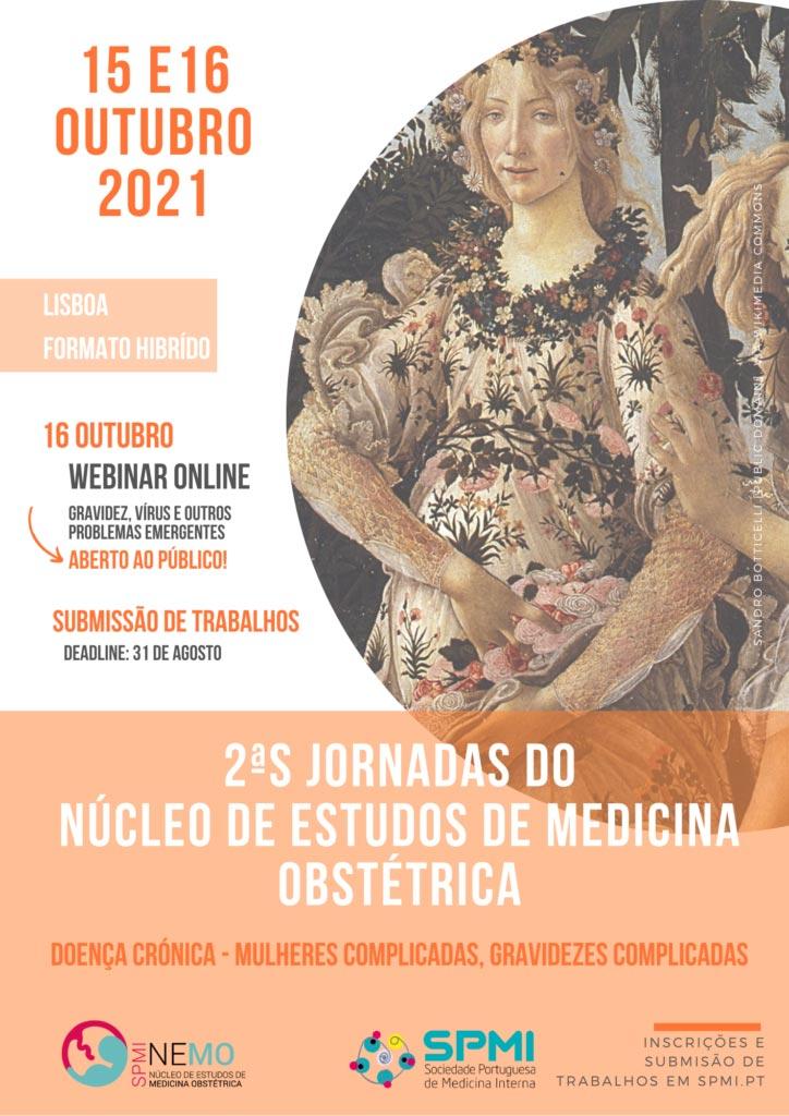 2as Jornadas do Núcleo de Estudos de Medicina Obstétrica - Inscrições Abertas