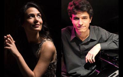 10 AGOSTO | INÊS FILIPE E RAFAEL RUIZ, PIANO