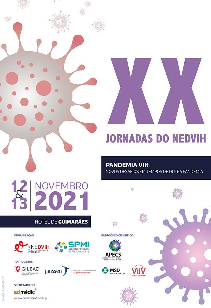 XX Jornadas do NEDVIH - Inscrições Abertas