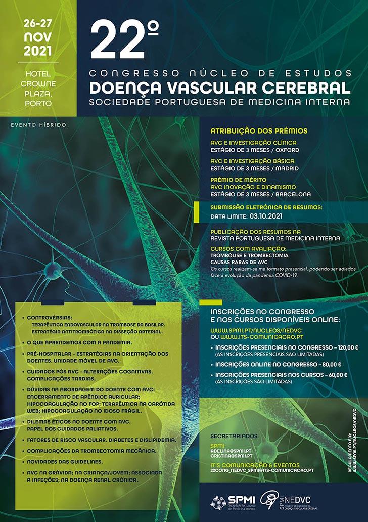22º Congresso do Núcleo de Estudos da Doença Vascular Cerebral