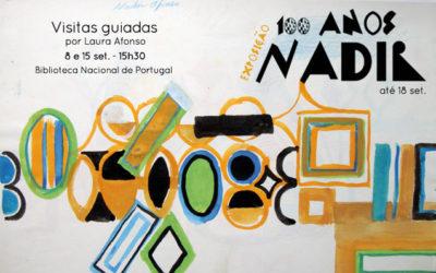 Visitas guiadas | Exposição 100 anos Nadir | 8 e 15 set. | 15h30 | BNP
