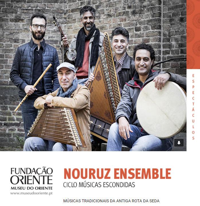 15 OUT | Nouruz Ensemble | Ciclo Músicas Escondidas
