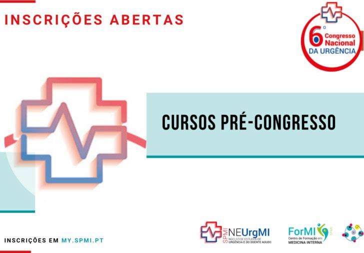 6º Congresso Nacional de Urgência - Cursos Pré-Congresso
