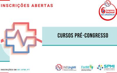 6º Congresso Nacional de Urgência – Cursos Pré-Congresso