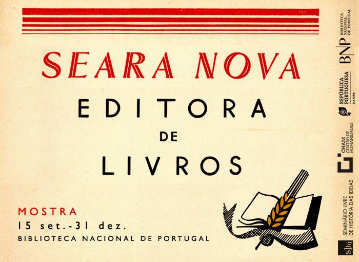 Mostra |  Seara Nova, editora de livros | 15 set - 31 dez. | BNP