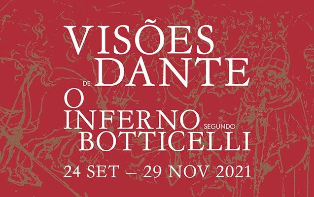 Exposição Visões de Dante com desenhos de Botticelli