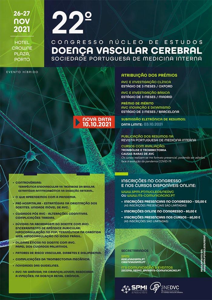 22º Congresso do NEDVC - Nova Data para submissão de trabalhos