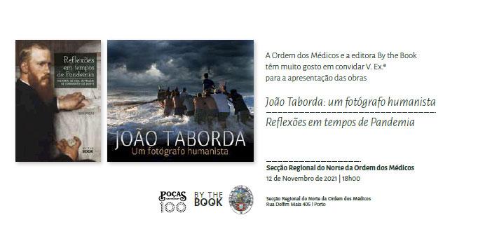 Apresentação das obras de João Taborda e de José Poças
